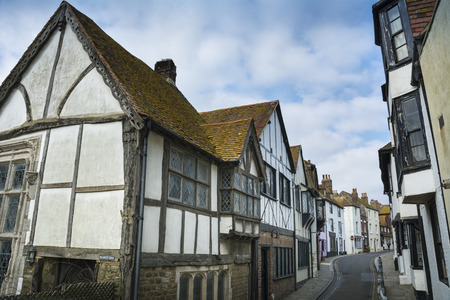 Hastings old town Stock Photo