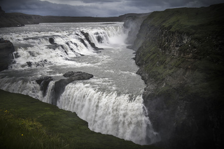 Iceland Gullfoss waterfall photo