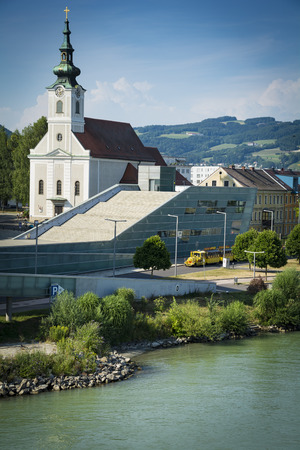 linz: Linz and Danube