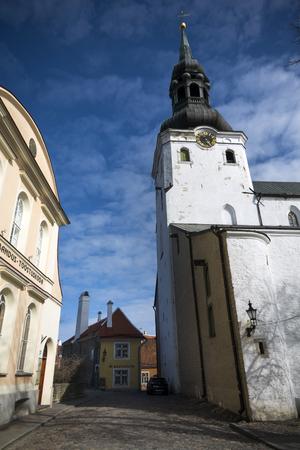 Old town of Tallinn capital of Estonia Stock Photo