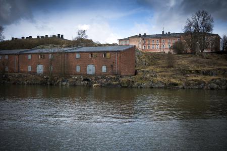garrison: Suomenlinna historic fortified island off coast near Helsinki