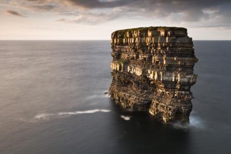 dun: Dun Briste sea stack 3 Stock Photo