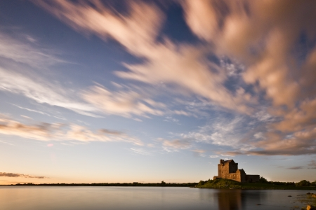 Dunguaire Castle 3 Stock Photo