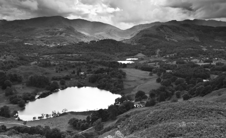 Lake district scenic photo