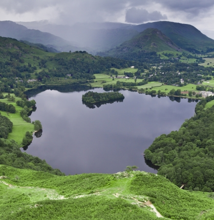 Grasmere lake 3 Stock Photo
