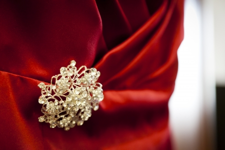 Bridesmaid dress detail