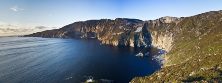 Slieve League Panoramic Stock Photo
