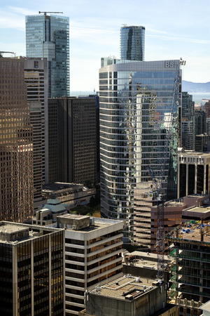 Downtown Vancouver, British Columbia, Canada. Standard-Bild - 105960813