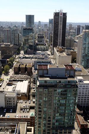 Downtown Vancouver, British Columbia, Canada. Standard-Bild - 105960819