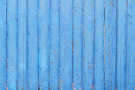 Blue painted wood planks as background or texture 스톡 콘텐츠
