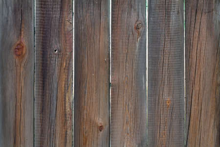 Old brown wood planks as background or texture. 免版税图像
