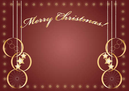 Beautiful backgroung for your greeting card Vector