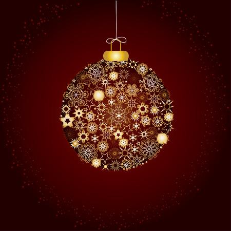 deseos: Decoraci�n de Navidad copos de nieve marr�n