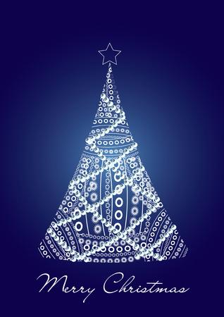 Beautiful Christmas card, vector illustration, see more at my portfolio Vector