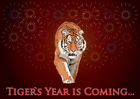 xm: Year of Tiger Illustration