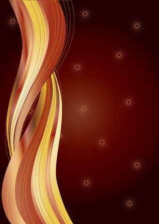 xm: Brown background, background for your greetings card, vector illustration, see more at my portfolio, you can type your text