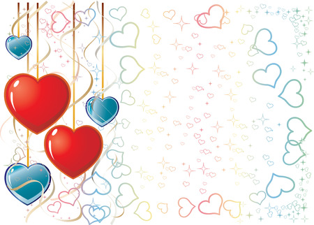 Valentine Background, background for your greetings card, vector illustration,   see more at my portfolio you can type your text Vector