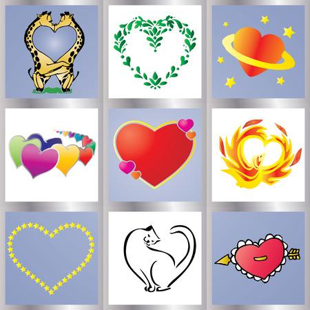 14th: Fondo de Valentine, 14 de febrero tarjeta de saludos