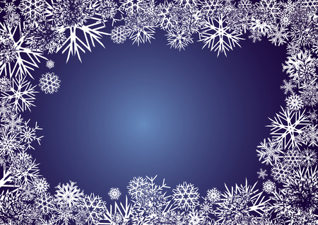xm: BACKGROUND_BLUE_SNOWFLAKES, background for your greetings card, vector illustration, see more at my portfolio, you can type your text