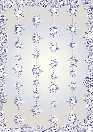 xm: White snowcapped background, beautiful snowcapped background, vector illustration