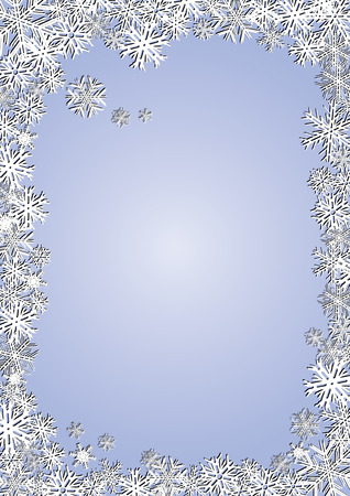 xm: Blue New Year Background, Delicate background for your greetings card, vector illustration