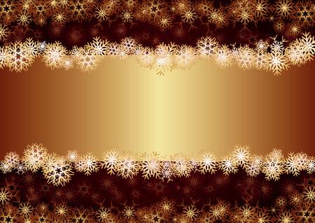 tu puedes: Tarjeta de Navidad de oro, Fondo para la tarjeta de saludos, ilustraci�n vectorial, ver m�s en mi cartera, puede escribir el texto Vectores