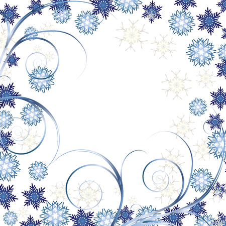Beautiful White Christmas background, Beautiful Christmas backdrop for your greetings card, vector Vector