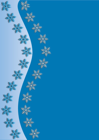 xm: Light Blue Winter Background, vector illustration,  see more at my portfolio, you can type your text