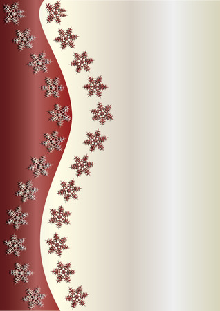 xm: Brown Winter Background, vector illustration,  see more at my portfolio, you can type your text