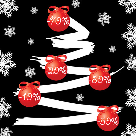 Sale tree, Use this sell tree for advertising, vector available  Stock Vector - 6055755