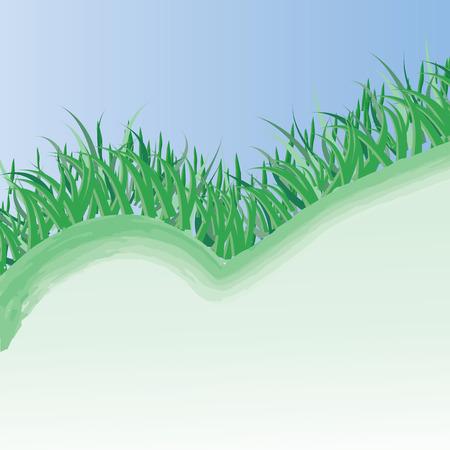 Spring grass  Stock Vector - 6412006