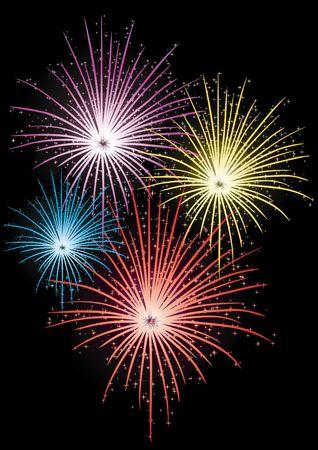 fireworks Stock Photo - 6782834