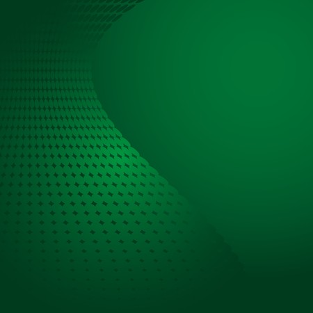 Green abstract background with dots Stock Vector - 7646471