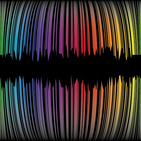 cretive: Abstract background with rainbow strips