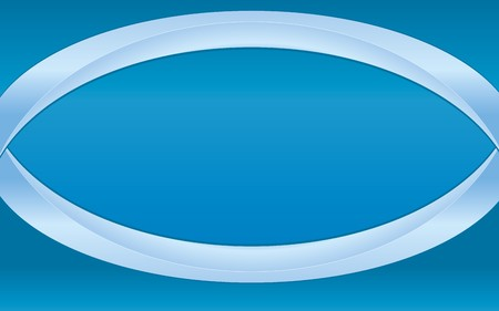Simple abstract blue background with blue ribbons,   illustration Vector