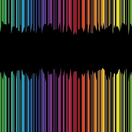 Abstract bacground with grunge rainbow strips  Illustration