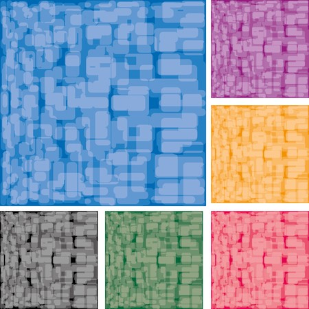 smirch: Set of abstract colorful spotted backgrounds, part 15, vector illustration