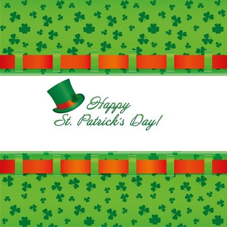 St. Patrick`s day invitation, vector illustration Stock Vector - 8827262
