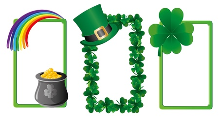 Set of St. Patrick`s day banners, part 3, vector illustration Stock Vector - 8976568