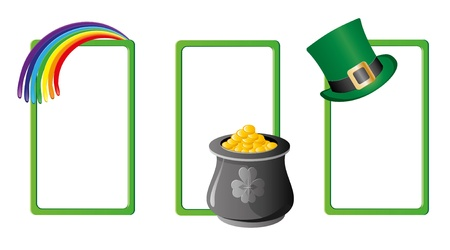Set of St. Patrick`s day banners, part 5 Stock Vector - 9068297