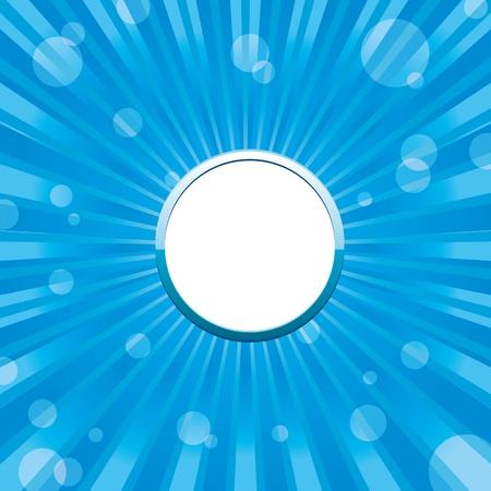 place for text: Azul abstracto con lugar para texto, ilustraci�n vectorial Vectores