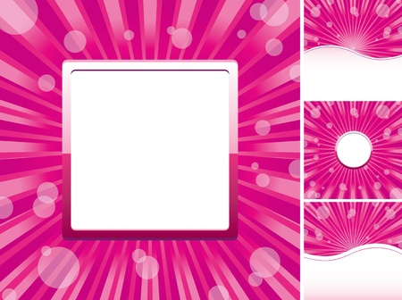 Set of abstract colorful backgrounds, part 20, vector illustration Vector