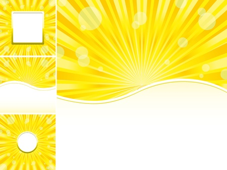 Set of abstract colorful backgrounds, part 21, vector illustration Vector