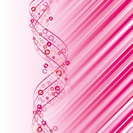 Pink abstract background with rstars, Vector illustration eps 10.0