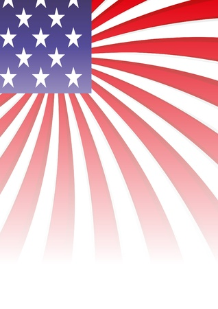 inaugural: background with elements of usa flag, vector illustration