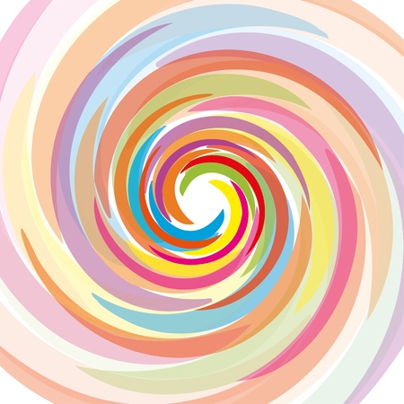 Abstract bacground with rainbow, vector illustration eps 10.0 Vector