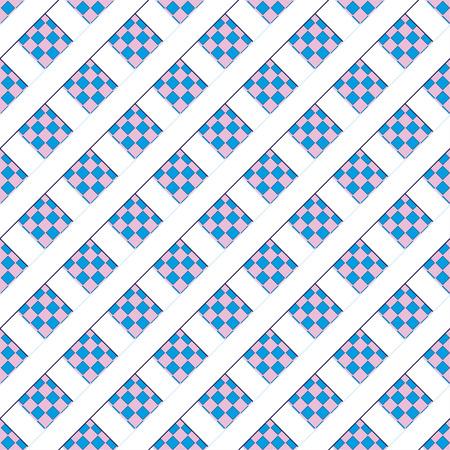 patten: Blue seamless patten, vector illustration Illustration