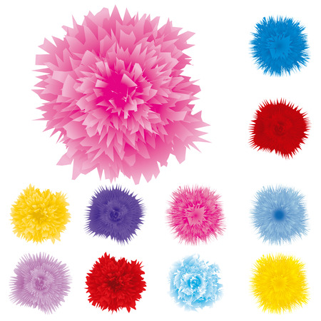 cloves: Set of cloves, vector illustration