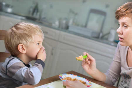 baby facial expressions: Picky Eater Denying to Eat