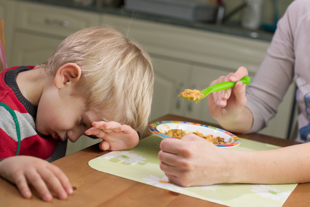 time critical: 3-4 Years Child Boy Refusing Food